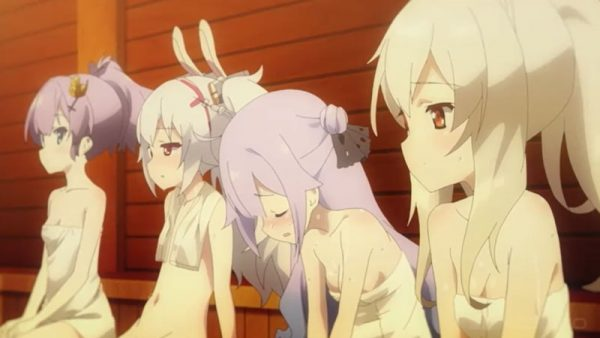 汗だく少女4人に「ごくごく」コメ多発なサウナ回キタコレ! 『アズールレーン』第10話盛り上がったシーン