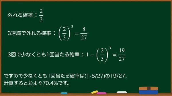 """""""SSR1%のガチャは100回やれば確実に当たる""""←意外と多い確率に関する勘違いを数学的に解説! いったい何回ガチャを回せば1%を引ける?"""