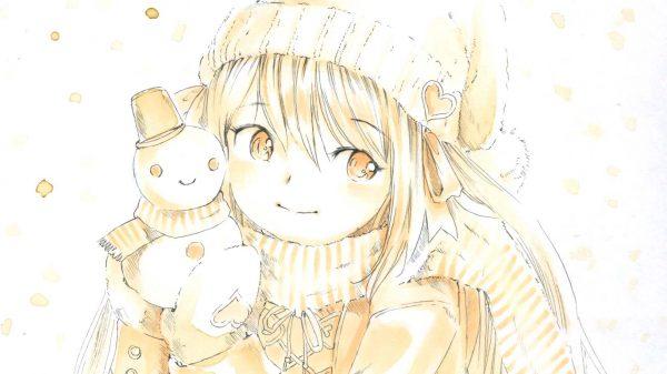 作るって楽しいね♡ 『雪だるま×女の子』のイラスト詰め合わせ