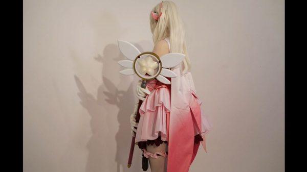 """『プリズマ☆イリヤ』イリヤのマジカルルビーを作ってみた!  3Dプリンターを使用した""""光る""""魔術礼装の仕上がりに「カッコいい」の声"""