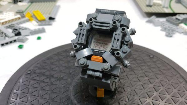 """レゴで""""G-SHOCK""""のベルトを作り直してみた!? 見た目のゴツさは本家越えするも、衝撃にはめちゃくちゃ弱いという残念仕様に"""