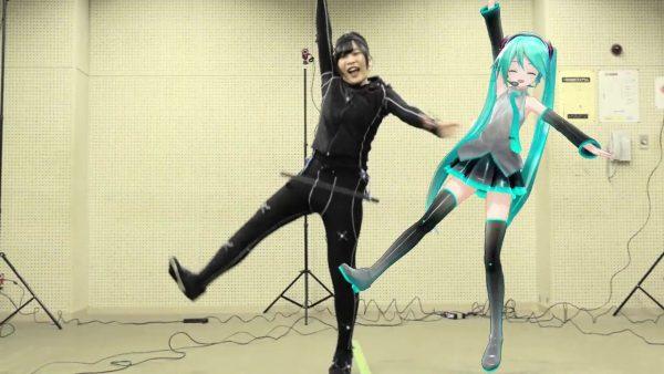 踊り手&初音ミクがモーションキャプチャーで共演! ハイレベルな振り付けを高精度で再現する感動の技術に「実に、素晴らしい…!」と絶賛の嵐【踊り手:市川】