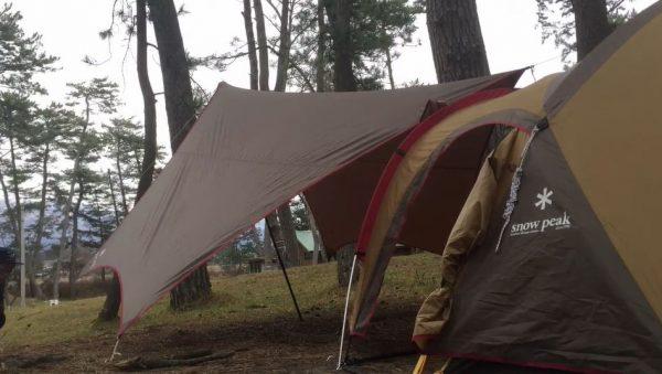 Snow Peakのアメニティドーム(テント)で釣りキャンプへ! 寒風の中の釣果は…「カルビ旨い」「やっぱ肉旨いわ」という結果に