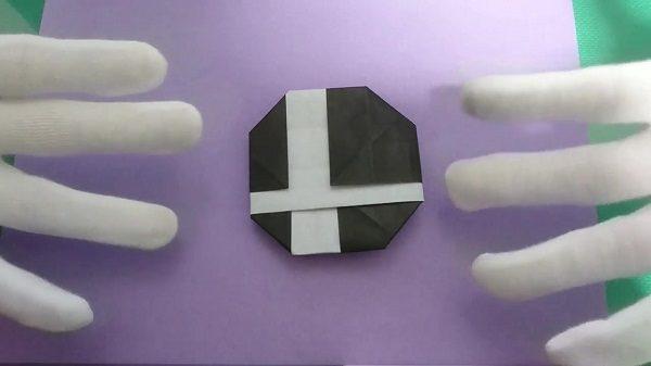 『スマブラ』ロゴを1枚の折り紙から作ってみた! あのプレイアブルキャラも折り紙ver.で登場!?