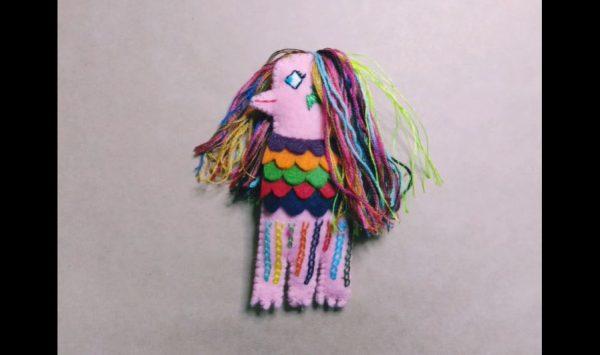 """妖怪「アマビエ」のマスコットを作ってみた…カラフルでお洒落な色遣いで""""個性豊か""""に完成!"""