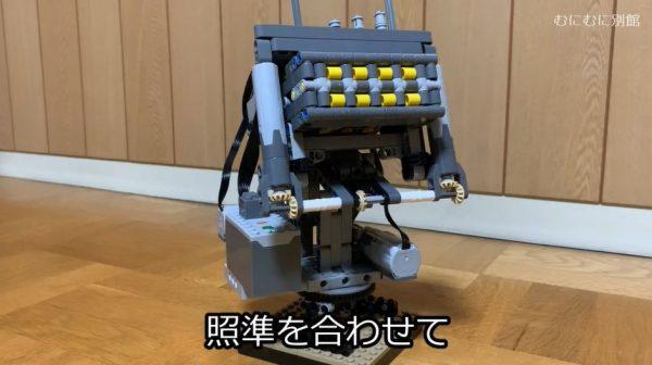 レゴで多連装ロケット砲を作ってみた! 敵機を迎え撃つレゴマシンの威力に「艦載兵器やん」「かっこいい」の声