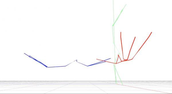 バッハに合わせて座標軸で平泳ぎ….? 人類の理解を置き去りにする3DCGの誕生をお知らせします
