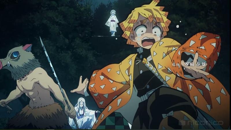 アニメ 鬼滅の刃 がおもしろすぎる 神作画なopに戦闘シーン 尊い