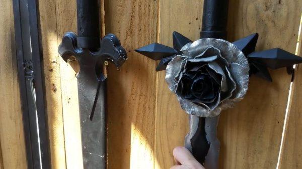『SAO』青薔薇の剣をアルミ鋳造で作ってみた…金属を叩いて作り上げた薔薇が見事な作品に「素晴らしい!」「マジですごいなぁ」の声