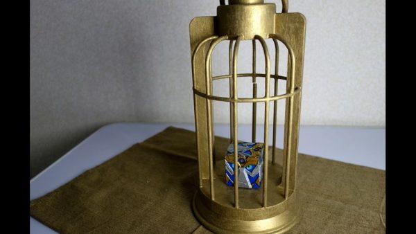 『FGO』『ロード・エルメロイⅡ世の事件簿』グレイの魔術礼装を3Dプリンタで作ってみた…鳥かごの中からアッドが瞳を光らせる作品に「すげぇ」の声