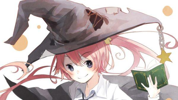 大きなとんがり帽子がチャームポイント! 『魔法使い×女子』イラスト詰め合わせ