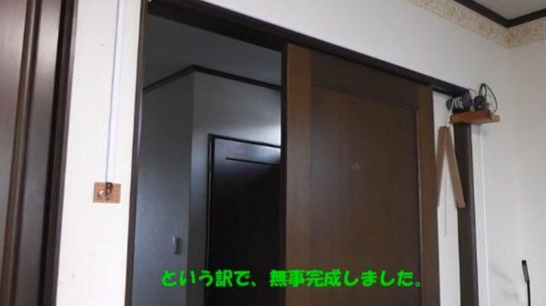自室の扉を自動ドアにしたった! 思い付きを形にする行動力と技術力に「人生たのしそう」「夢がある」の声