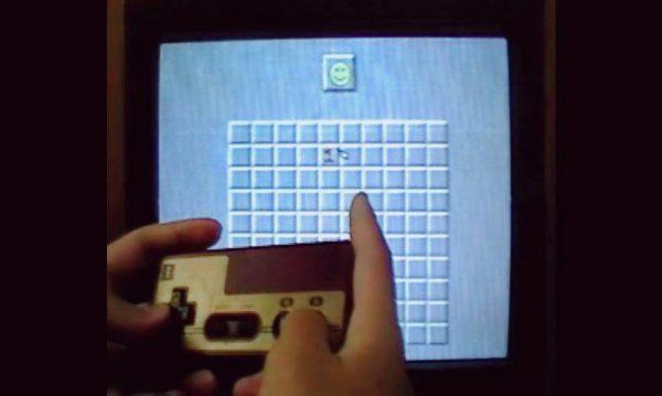 ファミコン版の「マインスイーパ」…? ブラウン管テレビでゲームプレイ…? 懐かしさが大渋滞のセットアップをご覧あれ