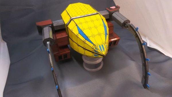 フルスクラッチで『機動戦士ガンダム』MAザクレロを作ってみた! ジオン驚異のメカニズムの再現に「すげえ」「イイネ!」の声