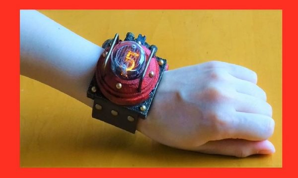 """3,000円で「ニキシー管腕時計」を作ってみた! お高い腕時計を""""超お得DIY""""で形にする技術に「センスが良いよね」と称賛の声"""