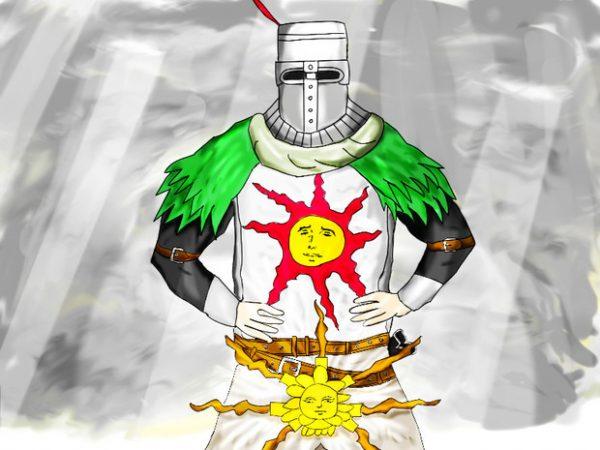 太陽万歳! \[T]/ 『ダークソウル』太陽の騎士ソラールイラスト集