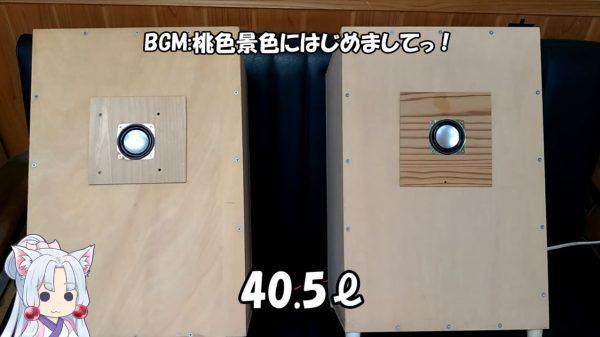 ダイソーの300円スピーカーをでっかい箱に入れたら音は良くなるの? 3.3、10、40.5リットルの箱に組み込んで大実験!