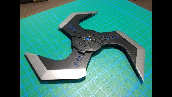 手裏剣型爆弾「アークスター」を作ってみた! ゲーム『Apex Legends』に登場する投げ物の再現に「ええやん」の声