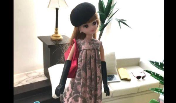 """リカちゃん人形の手袋を""""粘土で""""作ってみた! レザー風の手袋を着こなすリカちゃんに「いいなー」「レディ」の声"""