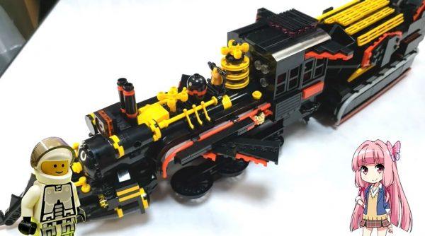 『バック・トゥ・ザ・フューチャー3』機関車型のタイムマシンをレゴで再現! 飛行形態への変形ギミック付きで「すごいわ」「ロボットになりそう」の声