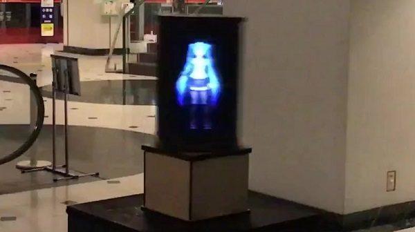 『スター・ウォーズ』に出てきそうなホログラム装置を作ってみた!360度どこからでも見れる立体ディスプレイに「原理がわからんけどすごい」の声