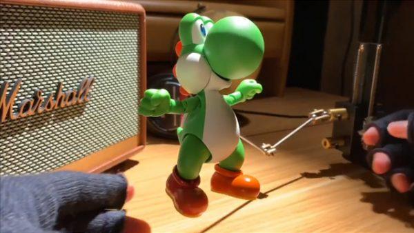 ヨッシーを使ったストップモーションアニメが凄い!! 本格的な撮影方法に「もうカメラが違う」など驚きの声も