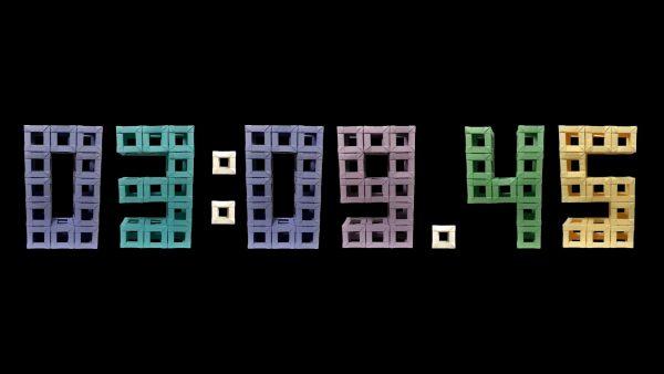 折り紙で10分間のストップウォッチ動画を制作! 合計1308枚が使われた力作に「すげぇ」「カップ麺に使わせてもらうわw」の声