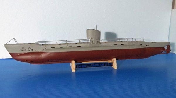 旧陸軍潜水艦「まるゆ」をフルスクラッチで作ってみた! 潜航&浮上も可能なラジコンに「すげえ」「曲線が美しい」と称賛の声