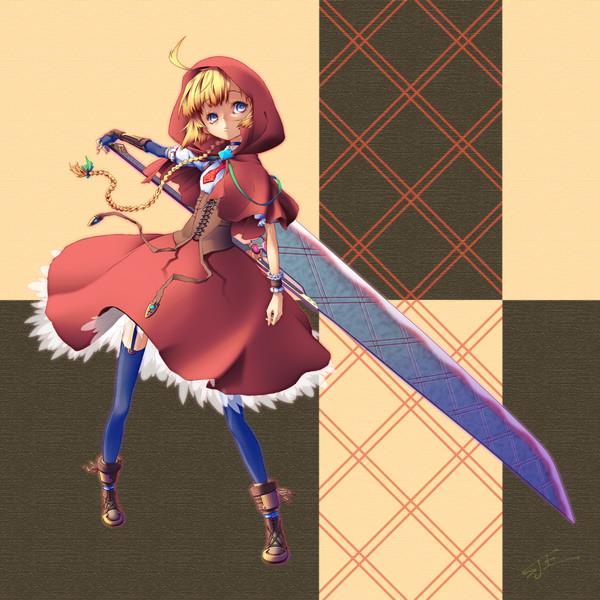 一戦交えませんか? 「剣を持つ」カッコいい女子キャラクターイラスト詰め合わせ