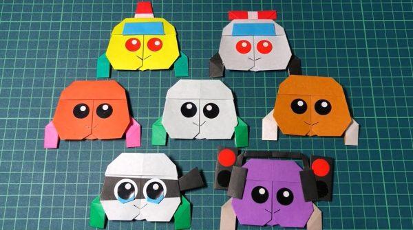 『PUI PUI モルカー』のモルカーを1枚の紙から折ってみた! バリエーション豊富な折り紙作品に「うわぁ」「かわいい」の声