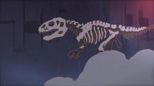 恐竜をモチーフにした自主制作アニメがジーンとくる! アートのような作品に「発想がオシャレぇ」「水の表現がすごく好き」の声