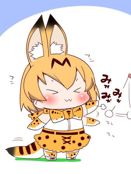 これでもくらえ! 『猫パンチ』を繰り出すかわいいアニメキャラのイラスト集