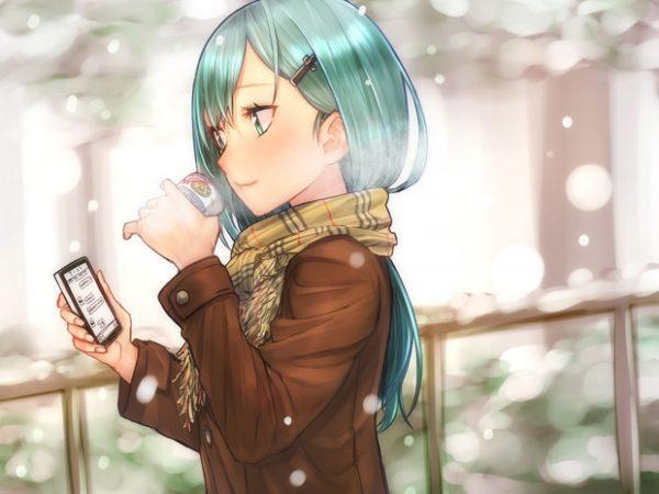 ねぇ、いま何してる?──「スマートフォン」を手に持った女の子イラスト詰め合わせ