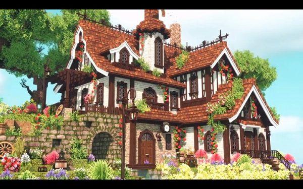 『Minecraft』建築自由度をアップさせるMOD「MiniaTuria」がスゴい! 建築勢必見のオシャレ装飾に「俺の知ってるマイクラと違う」の声