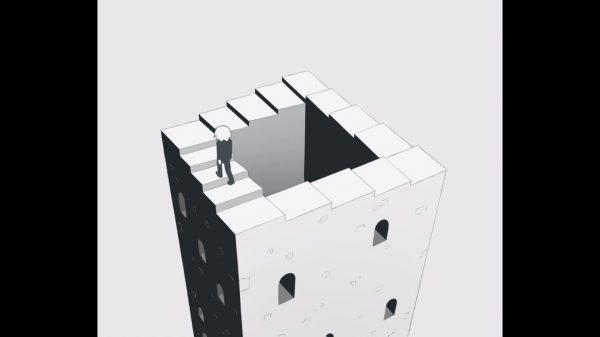 だまし絵の階段をひたすら登り続ける映像作品『くだらない人生』を人気クリエイターのアボガド6氏が制作。救いのないラストが胸に突き刺さる