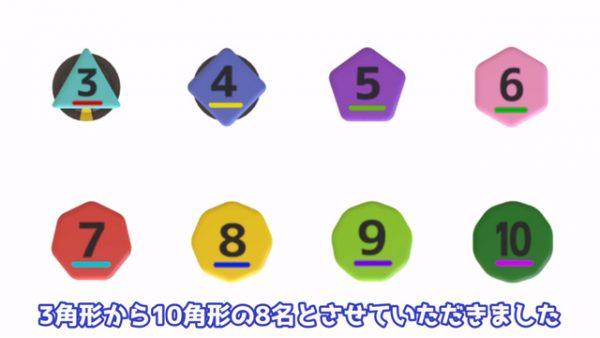 """ベーゴマは三角形と十角形ではどっちが強い? 最強""""多角形""""決定戦をシミュレーションしたところ意外な結果に!?"""