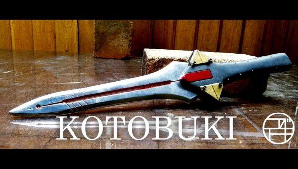 『エヴァンゲリオン』弐号機のプログレッシブ・ナイフをアルミで作ってみた! 鋳造を経て完成した輝きに「かっこいいな」「美しい」の声