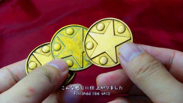 『ドラクエ』シリーズでお馴染みの「小さなメダル」を3Dプリンターで作ってみた 使用感ある塗装も相まって良い感じの出来栄えに!