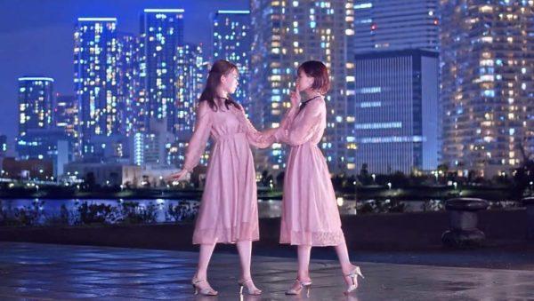 夜景をバックにした二人の踊ってみたが尊すぎる…! 大人っぽいアンニュイな表情に「ずっと見ていたい」との声