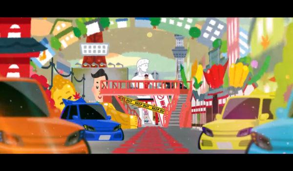 """「いらすとや」の素材で""""街""""を作ってみた! """"ネオ東京""""みあふれる、なんでもありすぎなカオス空間が妙に中毒性アリ"""