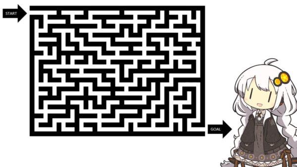 どんな迷路も10秒で攻略! 画像編集ソフトでポチポチ→正解が見えるミラクルハックをご紹介