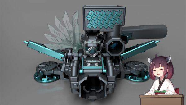 重武装すぎる自作ビーダマンがこれだ! 連射機構、照準、片手撃ちシステム…「変態に3Dプリンターを与えた結果がこれだよ!」