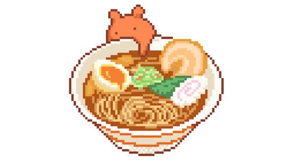 メンダコさんが「ペロッ」と味を確認するラーメン店…うっかり激辛麺を味見して「メェ~~~!!」と叫ぶショートアニメが可哀想でかわいい