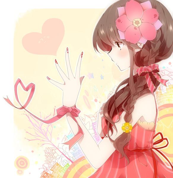 両肩に垂れた二つ結びがキュート! 「おさげ」の女の子キャラクターのイラスト詰め合わせ