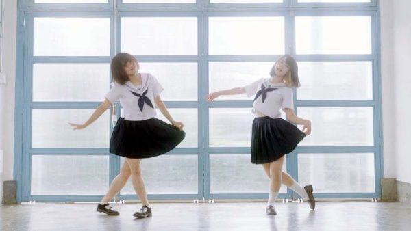 セーラー服少女2人が魅せる! 透明感あふれて消えちゃいそうな踊ってみたに「美しすぎる」の声